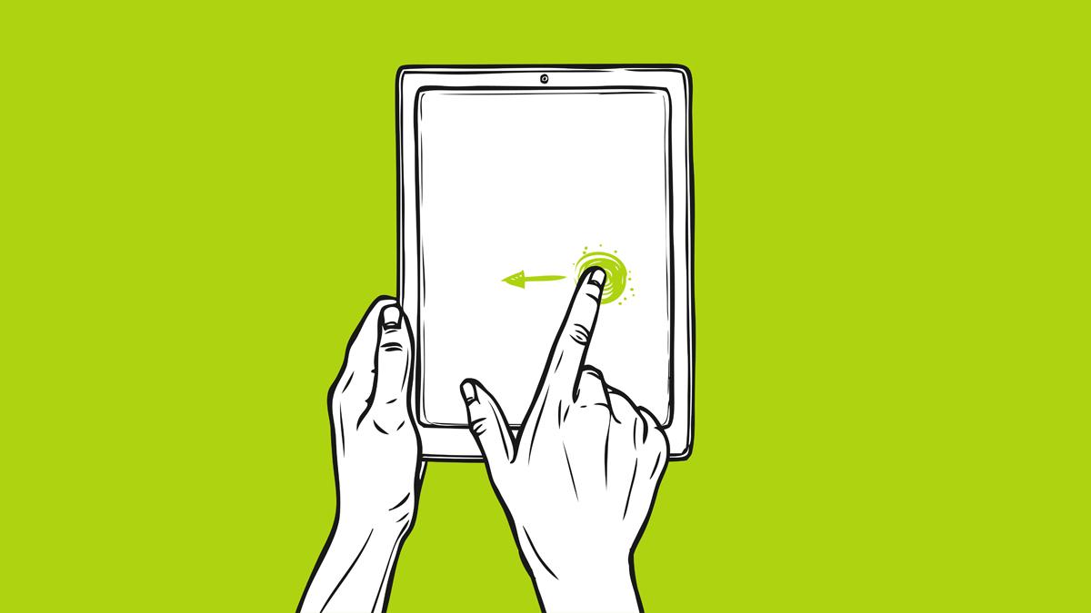 swipe-function-mobilos-lapozashoz